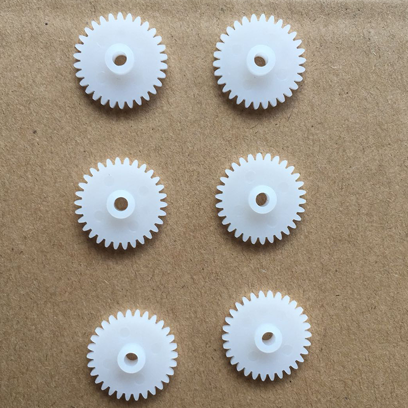30pcs 30T/2.5 hole/OD 16/plastic motor gear/Reducer gear/hot wheel/DIY toys accessories/technology model parts/baby toys/302.5A