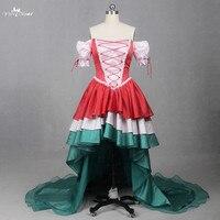 LZF017 короткое спереди и длинное сзади коктейльные платья Бисер платье для выпускного вечера Красочные Homecoming Платья Vestidos De Fiesta