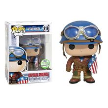 ECCC Exclusive Funko pop Official Emerald City Comic Con WWII Captain America Limited Edition Vinyl Figure Collectible Model Toy