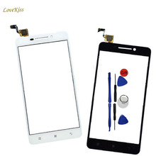 5.0inch Touch Screen Panel Digitizer Replacement For Lenovo A5000 A 5000 Front Glass Lens Touchscreen Smart Phone Sensor +Tools