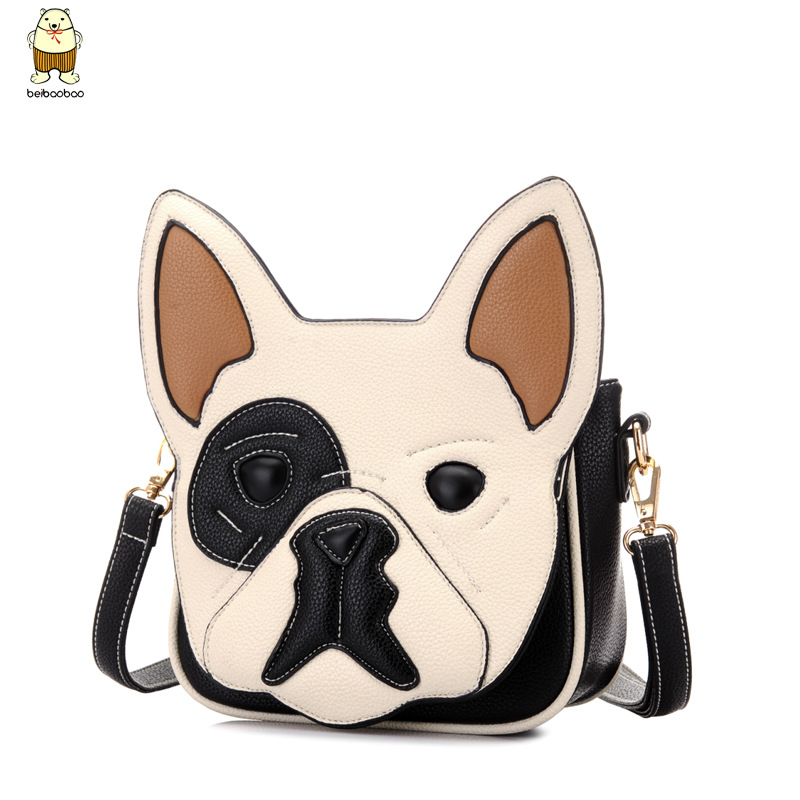 Cartoon Puppy Shoulder Bags Quilting Casual Animal Print Woman 2017 Fashion Cute Dog Handbags B39d3 Wxuetlxkzn In From Luggage On