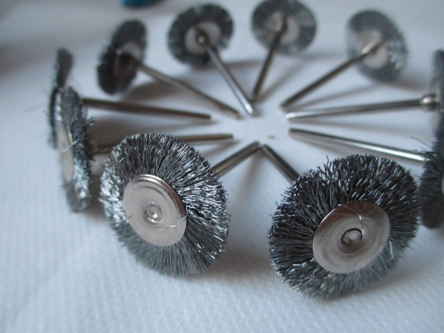 Stainless Steel Wire Wheel Brush | Fixmee 50pcs Stainless Steel Wire Wheel Brushes For Die Grinder