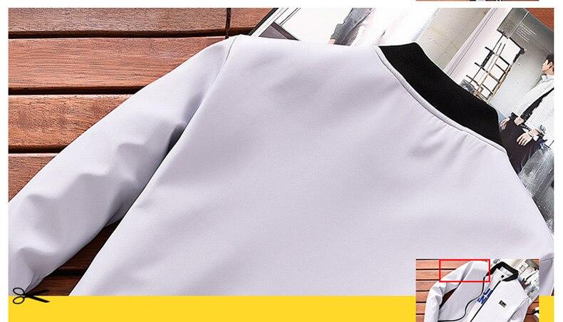HTB10CqeoAKWBuNjy1zjq6AOypXaE BOSIBIO Summer Autumn Mens Jacket Stand Collar Windbreaker Male Blue Baseball Jackets Casual Thin High Quality Size M-4XL LH-2