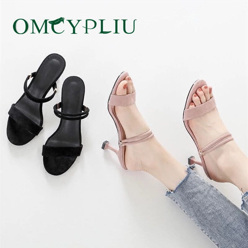 Woman Sandals Shoes Summer Fashion Ladies New Fine with High-Quality Multifunction Mujer
