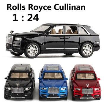 1:24 весы Rolls Royce Cullinan литые под давлением игрушечные машинки горячие колеса металлическая модель автомобиля мини машинки трек подарки на день рождения для детей