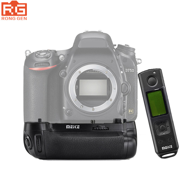 Meike MK DR750 Battery handle Vertical Battery Built in 2 4g Wireless Control Battery Grip for