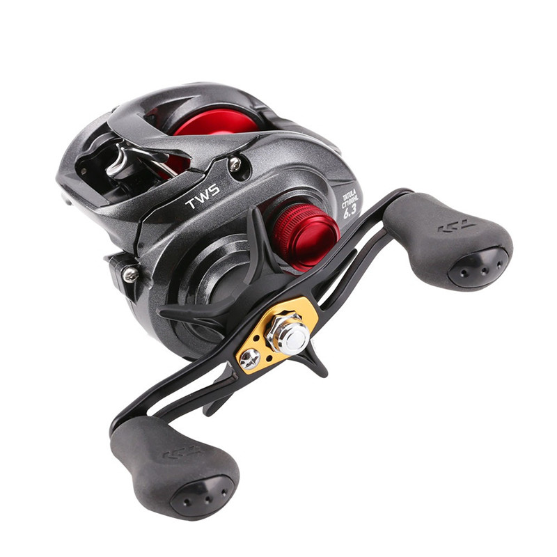 New 2016 high speed Right Left Hand Bait Casting Fishing Reel 8BB 7.3:1 6.3:1 210g Drum Trolling Baitcasting Reel