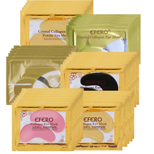5Pair=10PCS efero Eye Mask Gel Collagen Mask 24k Gold Eye Masks for Eyes Care Moisturize Dark Circles Eye Patches for Face Care 120g bamboo charcoal collagen eye mask eye patches eye mask for face care dark circles remove gel mask for the eyes ageless