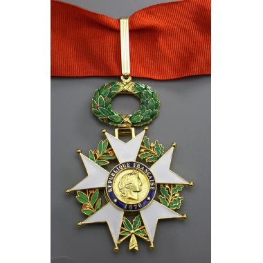 EMD French Legion Of Honour(Commander Class),3rd Republic1