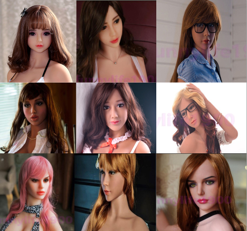 Tpe Sex Doll,sexy Toys,high Quality Oral Sex Doll Head Dynamic New Silicone Real Sex Doll Head For Love Dolls