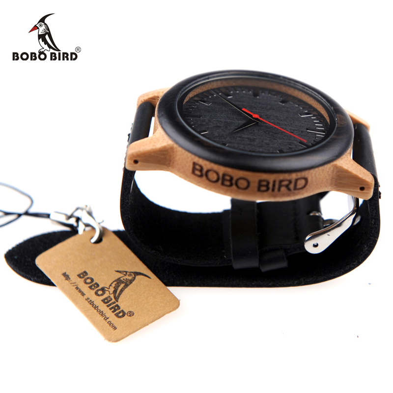 New 2017 Luxury Brand BoBo Bird Watch Men Women Bamboo Watches (2)