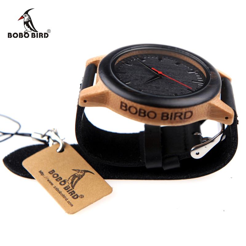 New 2017 Luxury Brand BoBo Bird Watch Men Women Bamboo Watches (2)