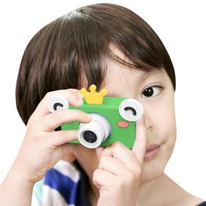 Image 2 - Digital Kids Camera Cute Cartoon Mini SLR Point Shoot Camera For Children Birthdays Gift CMOS 2inch Full HD Kids Boys Camcorders
