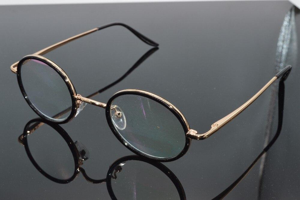 online optitian optical custom made myopia glasses nearsightedaness retro fashion men lady eyewear 1 125 15 175 2 to 15