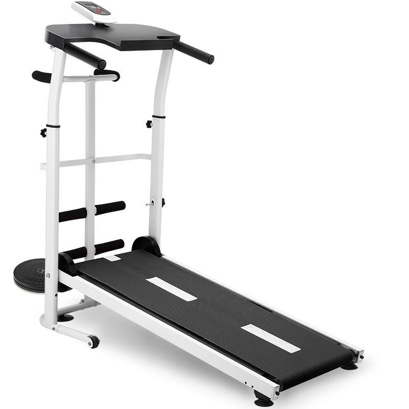 Mini Mécanique Tapis Roulant Exercice Cross-frontière Muet déambulateur pliant équipement de Fitness À Domicile machine de course Fitness Stable Sûr