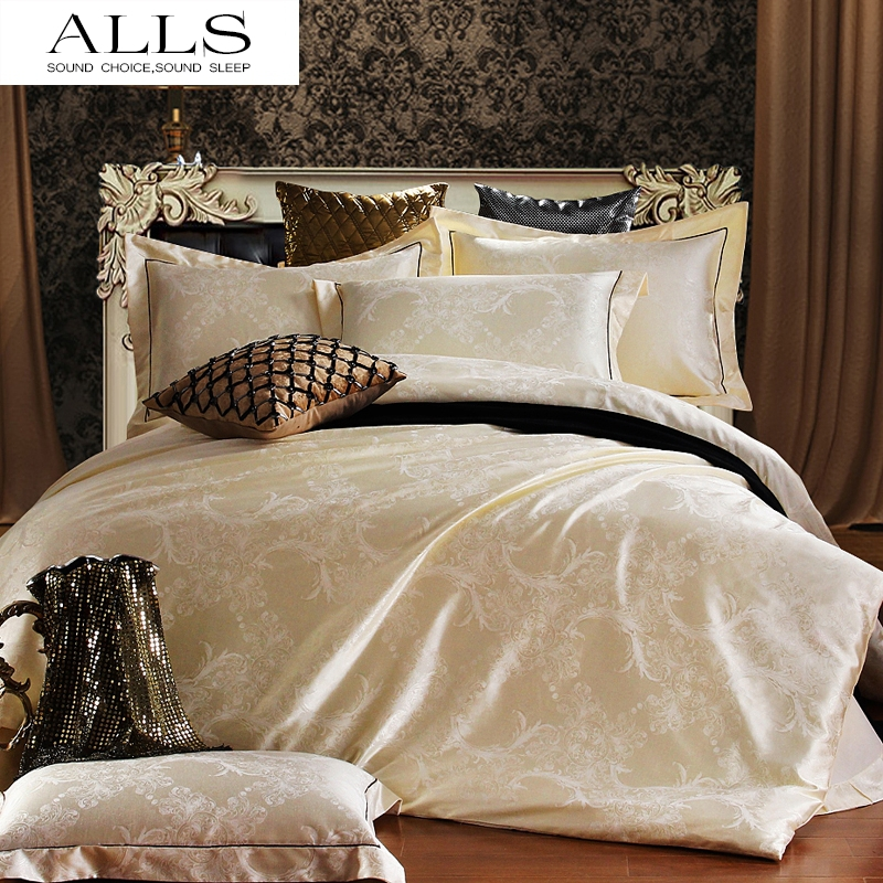 achetez en gros de luxe linge de lit ensemble en ligne des grossistes de luxe linge de lit. Black Bedroom Furniture Sets. Home Design Ideas