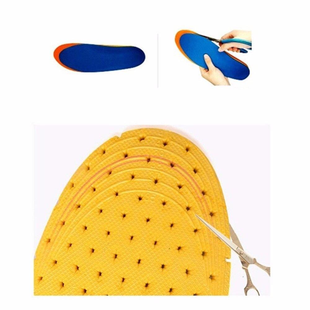 1 пара здоровая силикагелевая стелька ортопедическая стелька удобная походная стелька для кемпинга