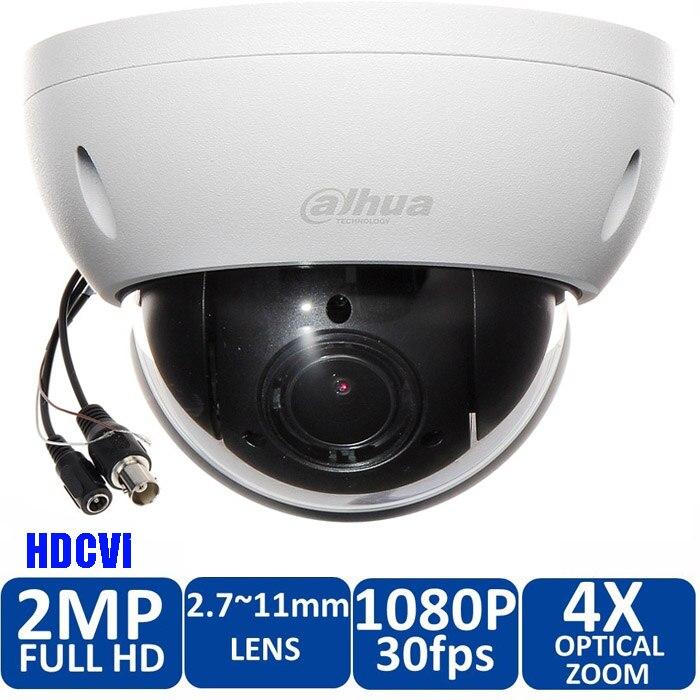 Livraison Gratuite DAHUA DH-SD22204I-GC Caméra de Sécurité CCTV 2MP FULL HD 4x PTZ HDCVI Caméra IP66 IK10 SD22204I-GC avec puissance