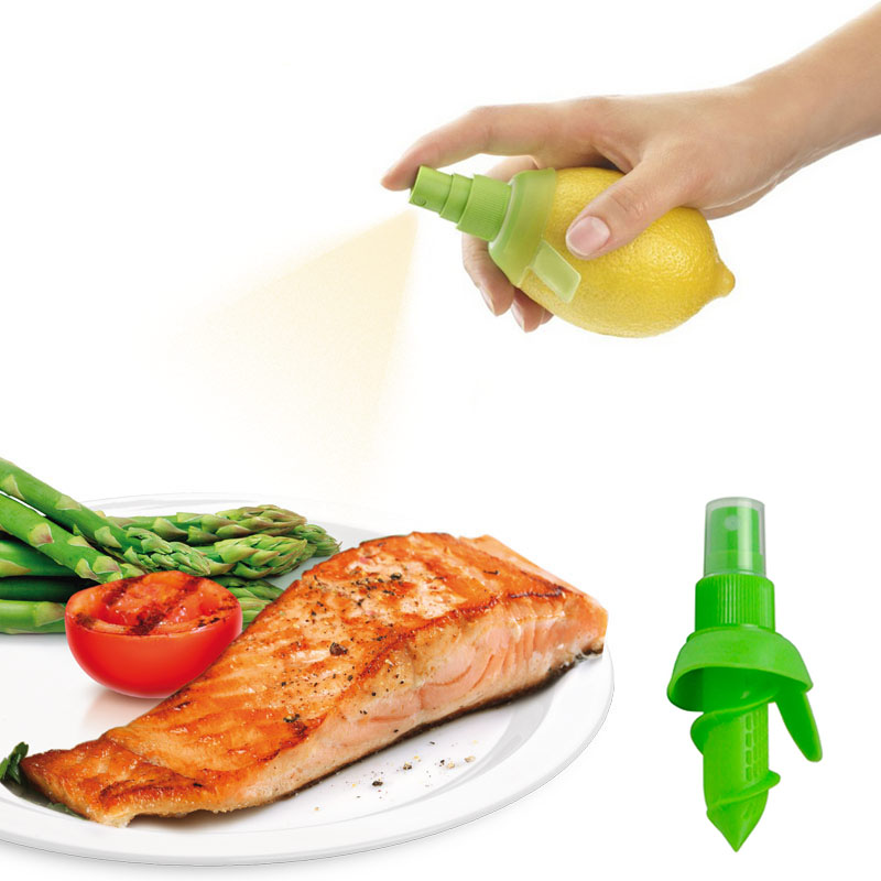 Sale 1PC Kitchen Gadgets Lemon Sprayer Fresh Fruit Juice Citrus Spray Orange Juice Squeeze Kitchen Cooking Tools