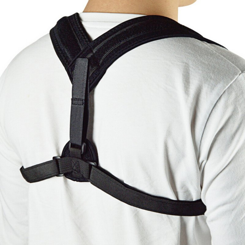Outdoor Men Adjustable Corset Back Support Brace Belt Band Posture Corrector Orthopedic Vest Correct Strap Posture Health Care