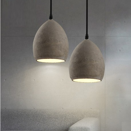 IWHD Industrial Loft Style Creative Cement Droplight LED Vintage Pendant Light Fixtures For Dining Room Hanging Lamp Lampara iwhd style loft industrial vintage lighting hanging lamp led cement rotro light fixtures bedroom living room kitchen lampara