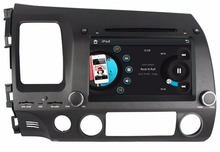 Touch screen 7″ Car DVD Player for Honda CIVIC 2006-2011 With Stereo Radio GPS Navigation Bluetooth IPOD TV SWC AUX IN USB