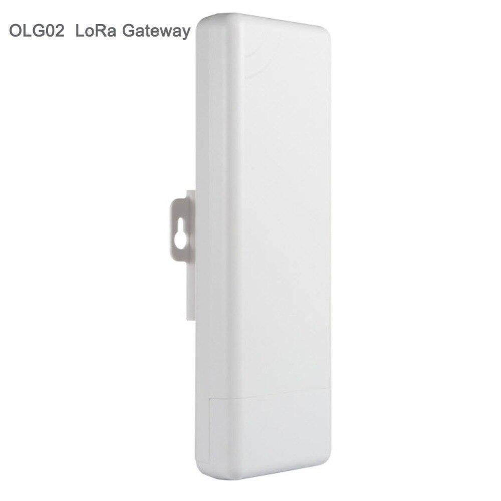 Pour Dragino OLG02 En Plein Air Double Canaux LoRa IoT Passerelle Wifi pour GPS Tracker LoRaWAN Répéteur 433/868/915 /920 mhz