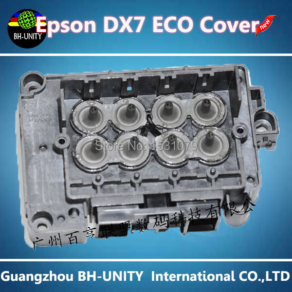 ФОТО DX7 Head cover for Epson DX7 eco solvent printhead