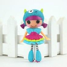 Neue ankunft Mini 3 Zoll Original MGA Lalaloopsy Puppen Mini Puppen Für Mädchen Spielzeug Spielhaus Jeder Einzigartige