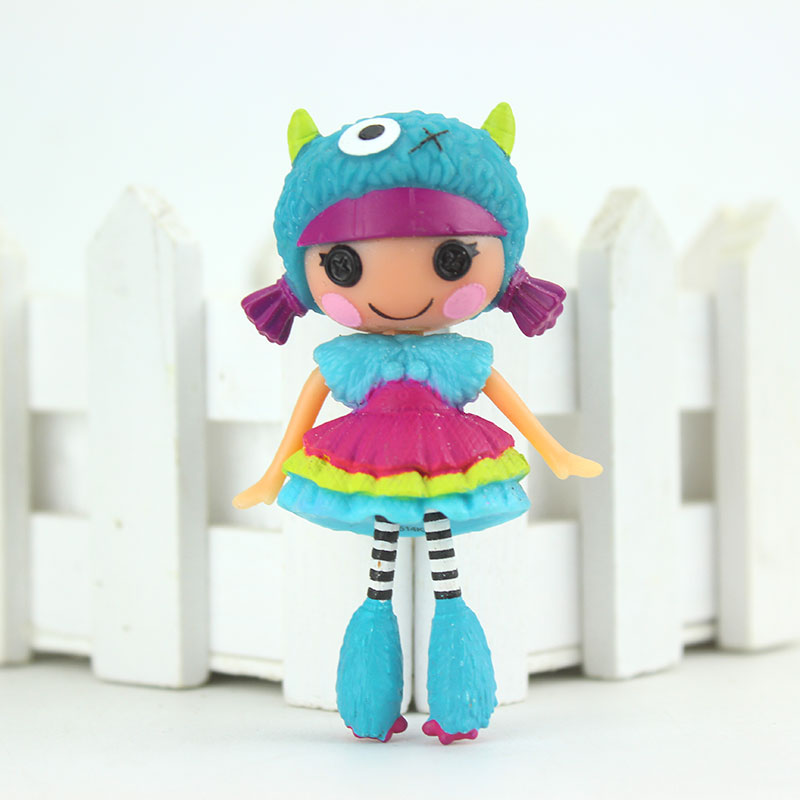 New Arrival Mini  3Inch Original MGA Lalaloopsy Dolls Mini Dolls For Girl's Toy Playhouse Each Unique