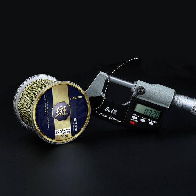 Super DAGEZI 300m PE Braided Fishing Line Fishing Lines e97de37ac7bb1b9210bc97: 0.20mm---25LB|0.23mm-30LB|0.28mm-40LB|0.32mm---50LB|0.40mm---80LB