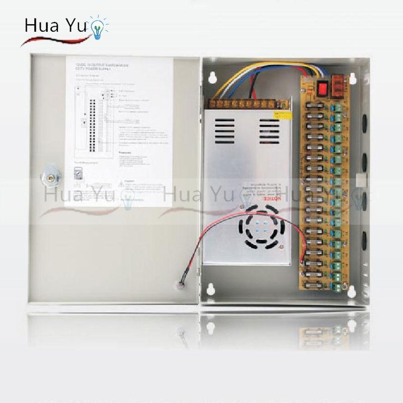 18CH 12V 30A CCTV power supply box / 12V 30A 360W monitor power supply / switch power supply цена