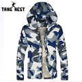 TANGNEST Men Camouflage Jacket Popular 2017 Man Sunscreen Fashionable Casual Coat Comfortable & High Quality Hot Selling MWW170