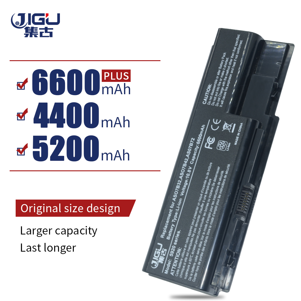 JIGU Laptop Battery For Acer Aspire 5300 5310 5315 5320 5330 5520G 5530 5530G 5535 5710 5710G 5710Z 5715 5715Z 5720 5730 5730Z