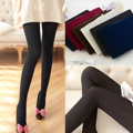 2017Women Pantyhose Autumn Winter Knitted Stockings Women Ladies Pantyhose Skinny Tights Warm Tights Collant Femme 140D