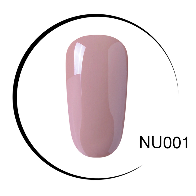 Elite99 Semi-Permanent UV Gel Nagellack LED Maniküre Kit weg Tränken UV Gel Nagel Nude Farbe UV Gel nagellack Lack Lack
