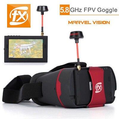 Expédition! FX 797 T caméra sans fil recherche automatique Drone moniteur de course FPV lunettes