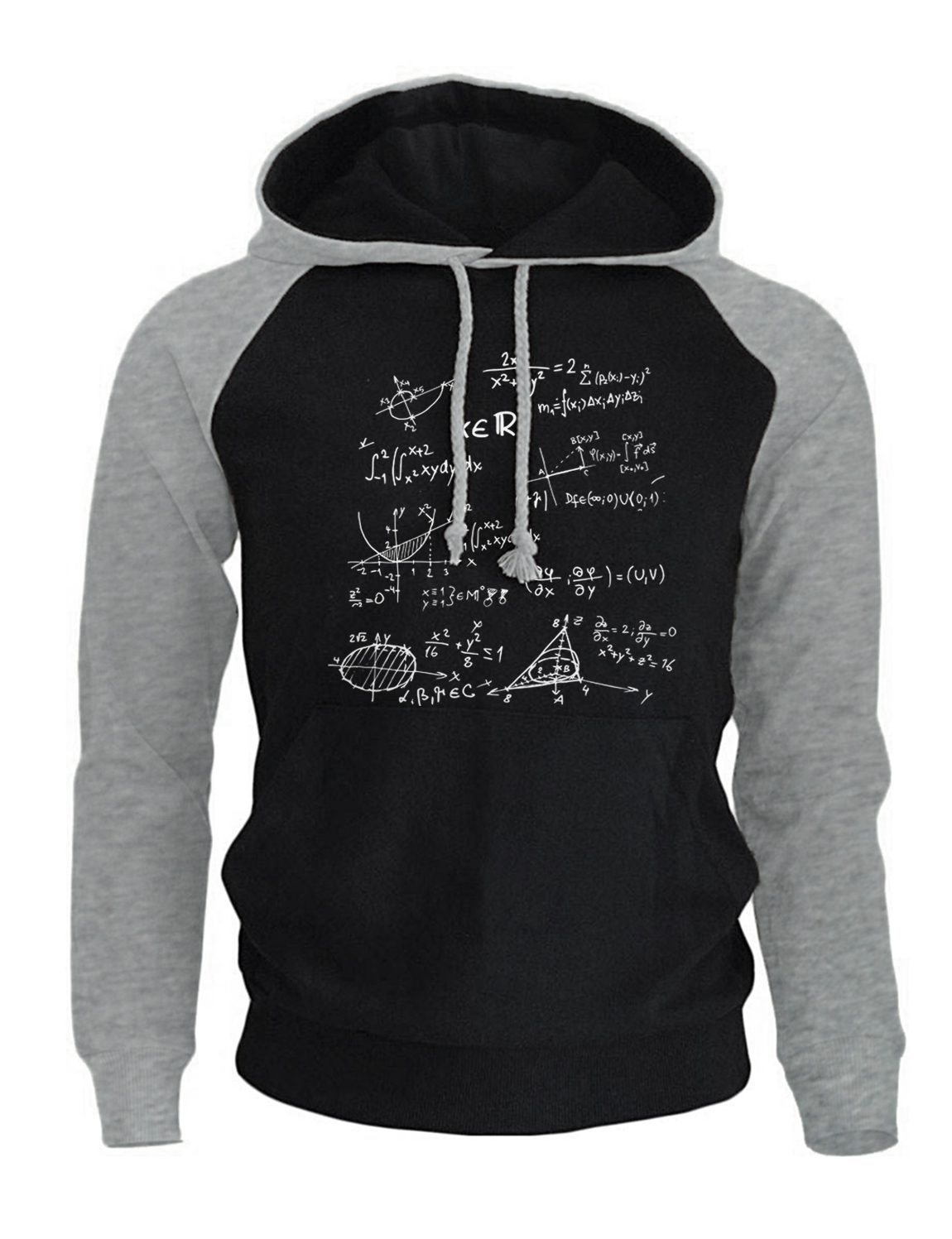 Hoodies For Men 2018 Autumn Winter Mathematical Formula The Big Bang Theory Fashion Mens ...