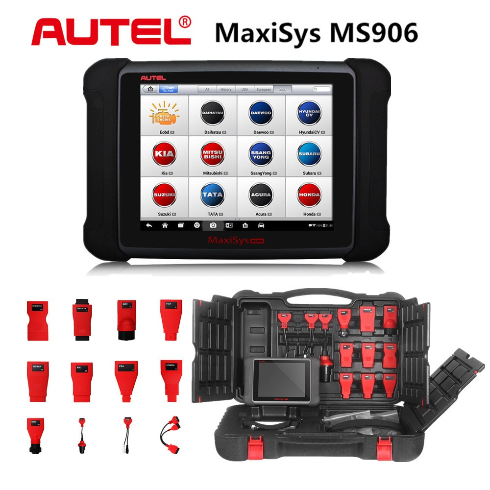AUTEL MaxiSYS MS906 8 Android 4.0 WIFI Auto Diagnostic Scanner Next Generation of Autel MaxiDAS DS708 Update Online Free