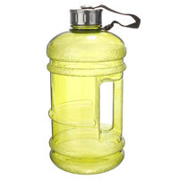 2 2L Big BPA Free Sport Gym Training Drink Water Bottle Cap Kettle Workout AU