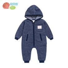Nouveau-né bébé vêtements d'hiver barboteuses bébé garçon à manches longues combinaisons épais chaud salopette de bébé coton enfants vêtements 171L084