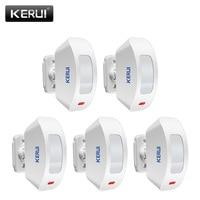 KERUI Wireless Window Curtain PIR Motion Detector Sensor for Home Alarm System 433Mhz for G19 G18 8218G M7 Alarme System