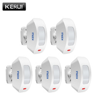 KERUI Wireless Window Curtain PIR Motion Detector Sensor for Home Alarm System 433Mhz for G19 G18 8218G M7 Alarme System