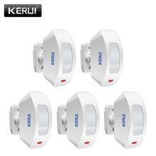 KERUI cortina de ventana inalámbrica P817, Sensor de movimiento PIR para sistema de alarma de casa, 433Mhz, para sistema de alarma K52 W18 G18 W20