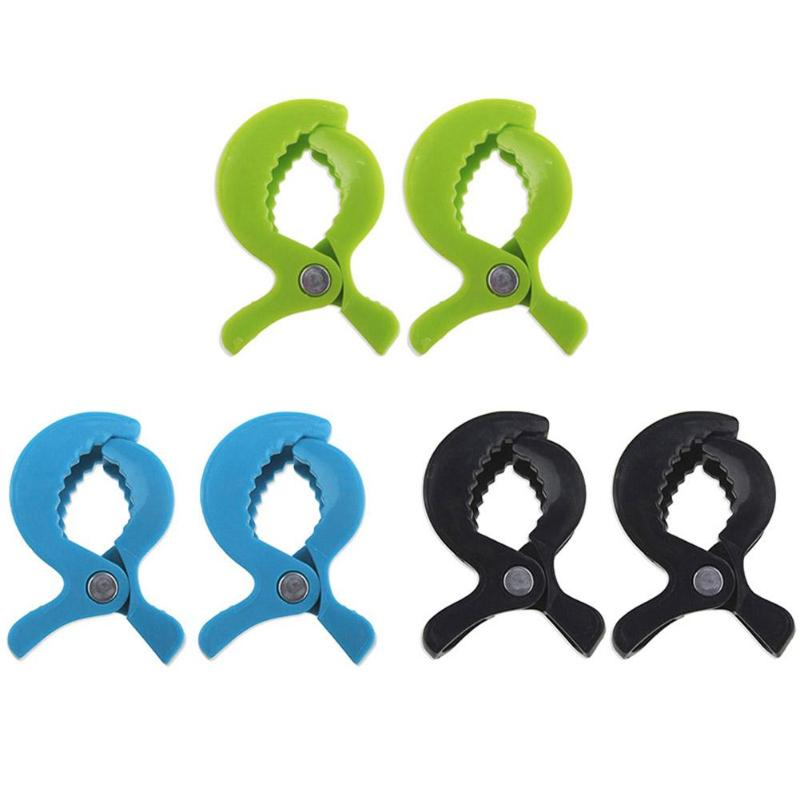 2pcs ABS Pushchair Pram Peg Blanket Mosquito Net Clips Stroller Accessories Cart Cover  Quilt Clip Windproof Clamp