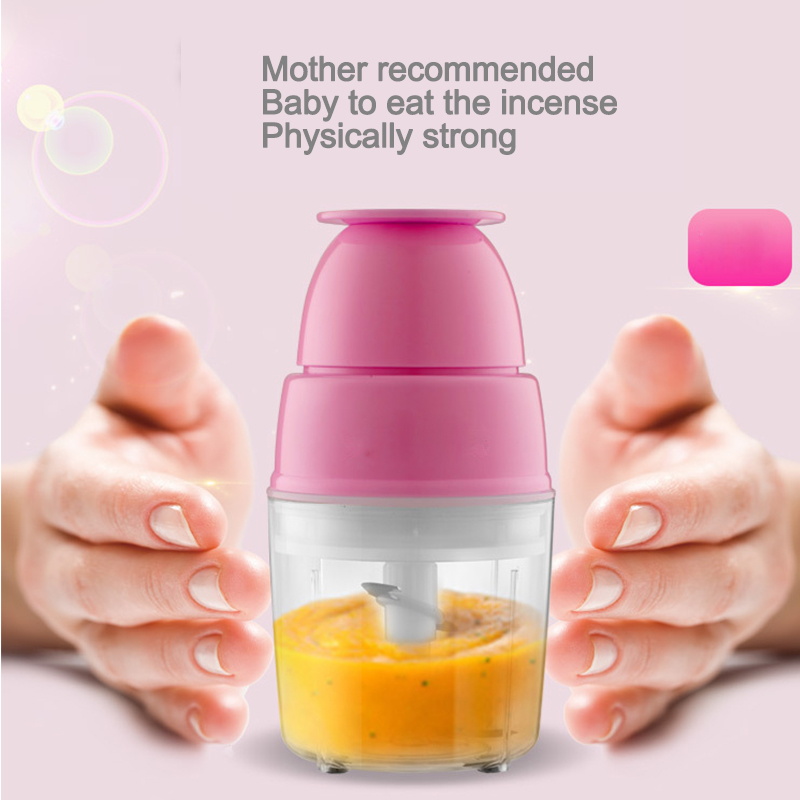 Baby Baby Feeder Electric Mini Fruit Vegetable Meat Feeder Multi-Function Food Mixer fruit ice cream feeder from factory selling gelato fruit nuts mixer