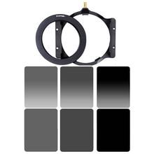 Zomei Площадь 100 мм * 150 мм Фильтр Нейтральной Плотности Полный Цвет Серый ND4 ND8 ND16 Серый Градиент ND 4 8 16 Компл. для Cokin Z-pro.
