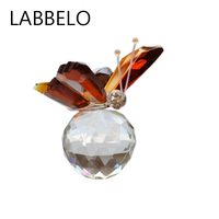 Processing Custom Crystal Butterfly Furnishing Articles Craft Gift A Undertakes To Small Animals