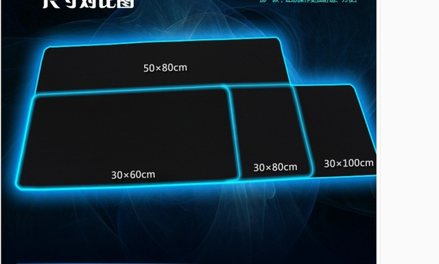 large gaming mouse pad