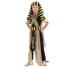 37cab0f6cf059c Kinder Halloween Kostüme Wunderschöne Kleidung Nativen Alten Ägyptischen  Pharaonen Kinder Rolle-Spielen Sets Tutankhamun Bühne L..